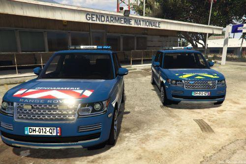 Range Rover Vogue Gendarmerie