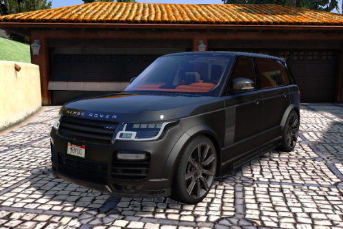 Range Rover Vogue Mansory [Add-On / Replace]