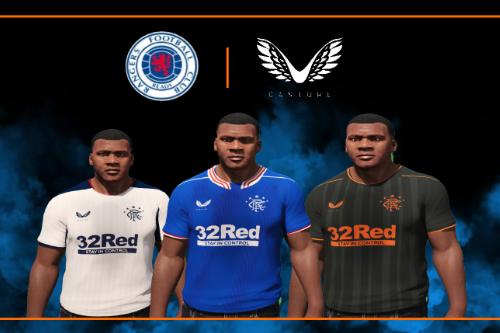 Rangers X Castore 2020 / 21 Kits