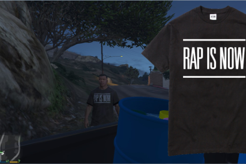 """Rap is Now"" Shirt"