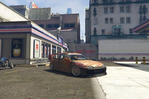 Rat Honda Civic EG6 (Rust)