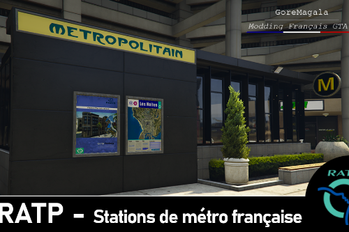 RATP – French metro stations