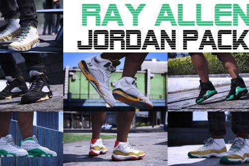 Ray Allen Jordan Pack