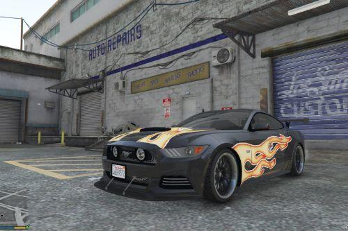 Razor Most Wanted Livery (Ford Mustang GT 2015)