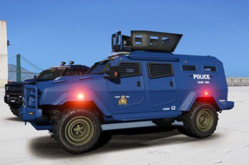 RCMP/OPP/LSPD Light Armoured Police Vehicle [ELS]