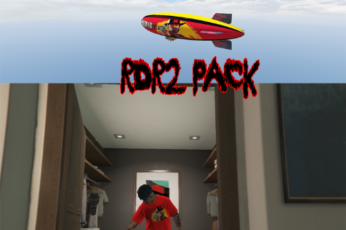 RDR2 PACK [Blimp&T-shirt