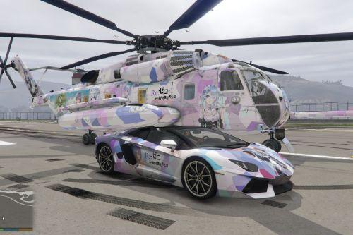 Re0 Rem Livery for CH-53 Sea Stallion