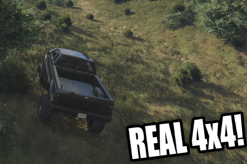 Real 4x4 Handling Mod - Choose Any Car