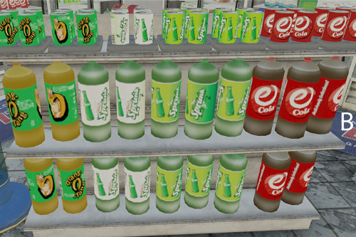 Real Brands on the shelves