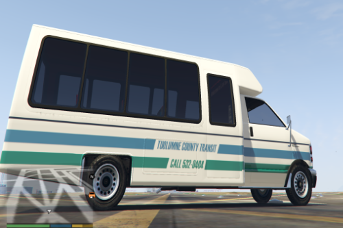 Real CA transit system liveries for Rental Shuttle Bus
