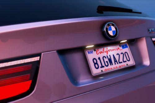 Real California Font & Plates