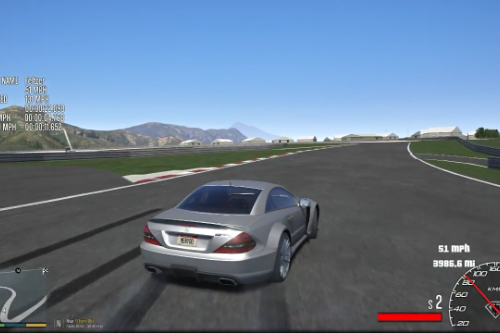 Real Driving Simulator (RDS) for 2009 Mercedes-Benz SL 65 AMG Black Series
