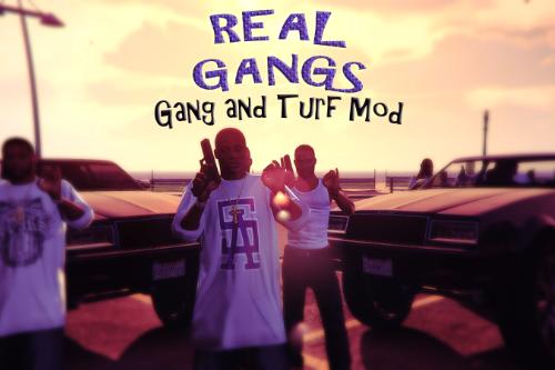 Real Gangs for Gang and Turf Mod