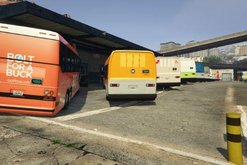 Real Life Liveries for Bus Simulator V Buses