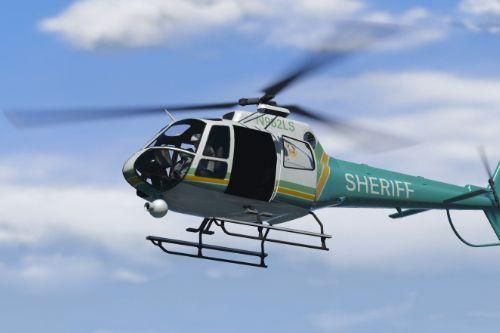 Real Los Santos County Sheriff Helicopter 4K Livery