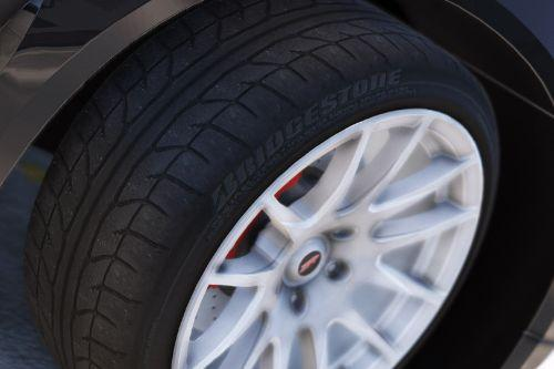 Real Tires - Bridgestone Potenza