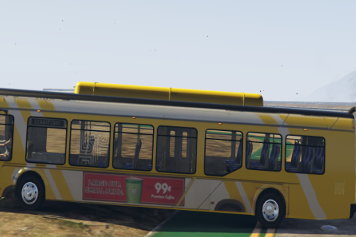 Real USA transit system liveries for Improved Brute Bus mod