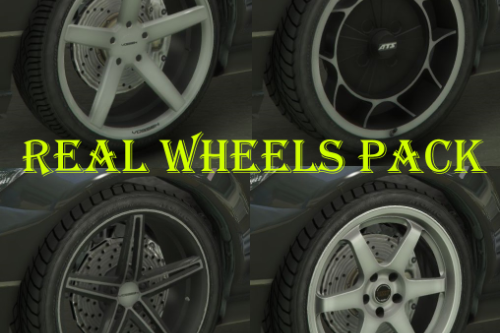 Real Brand Rims Pack