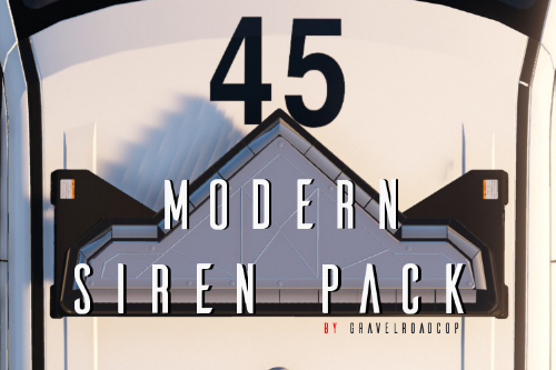 Modern Siren Pack (OIV Supported )