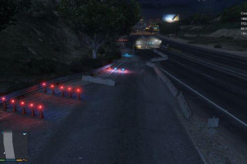 Realistic Border Checkpoint [Menyoo] [YMAP]