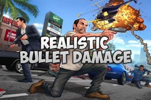 Realistic Bullet Damage [.NET]
