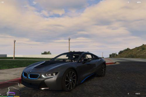 Realistic driving for the BMW i8