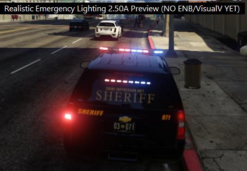 Realistic Emergency Lighting + ELS Enhancement