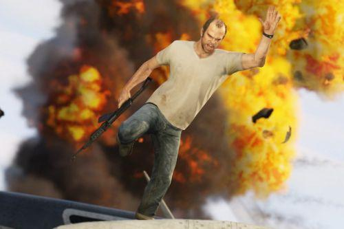 5d88b0 grand theft auto 5 gets fresh screenshots showing explosions cars trucks bikes 381737 2 1024x576