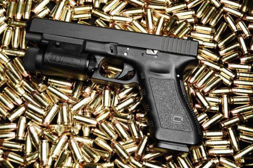 Realistic Glock Clip Size (Pistol)