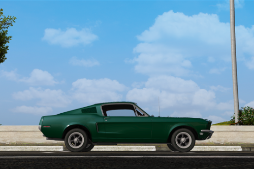 Realistic Handling for1968 Ford Mustang Fastback (Dani02)
