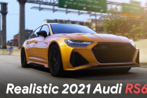 Handling for 2021 Audi RS6