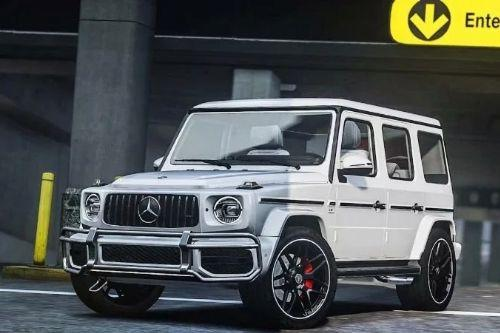 Handling for Topcar-Design's 2019 Mercedes-Benz G63