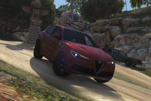 Realistic Handling for Alfa Romeo Stelvio Quadrifoglio