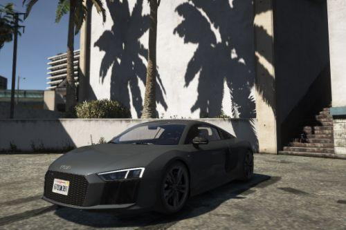 Realistic handling for AUDI R8 V10 PLUS-Top Speed 330kmh