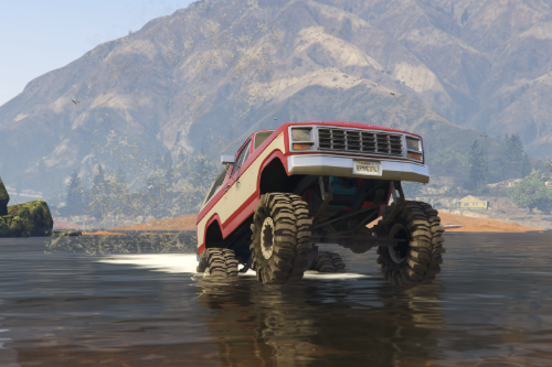 Realistic Handling for Bagged's Bronco Mudslinger