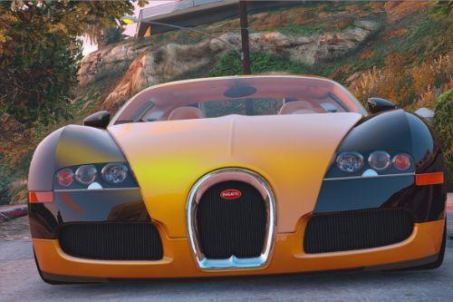 Handling for Bugatti Veyron 2009