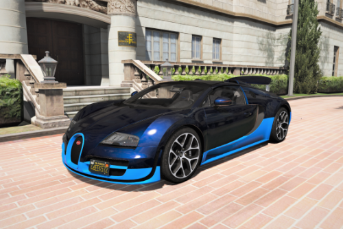 Realistic Handling for Bugatti Veyron Vitesse