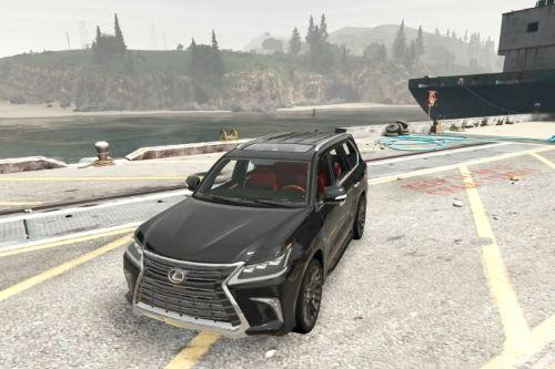 Realistic handling for Lexus  LX 570-Top Speed 220kmh
