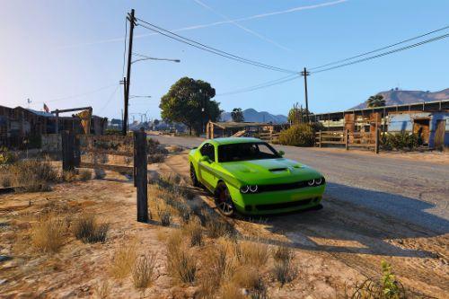 Realistic Handling for Tk0wnz's Hellcat Challenger