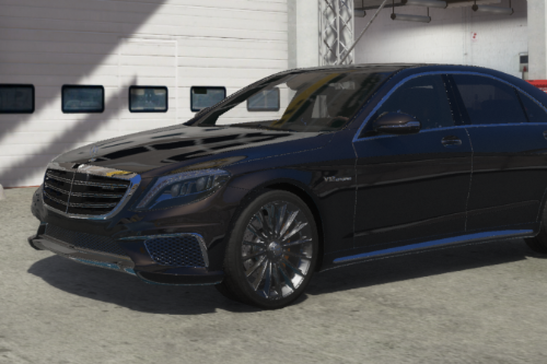 Realistic Handling Pack for 2014 Mercedes-AMG S65 W222