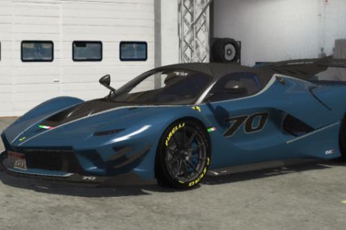 Realistic Handling Pack for 2018 Ferrari FXX-K Evo