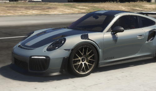 Realistic Handling Pack for 2018 Porsche 911 GT2 RS Weissach Edition