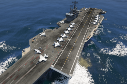 Realistic(-ish) carrier configuration [Menyoo]