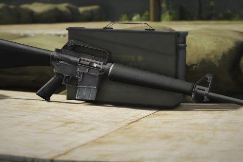 Realistic and Abused M16A1 Skin