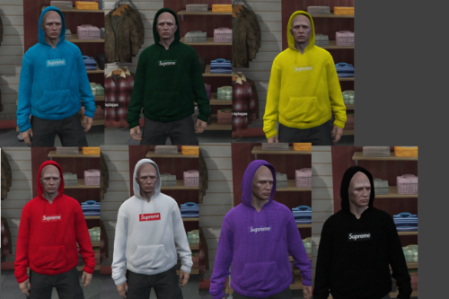 Supreme Hoodie Pack