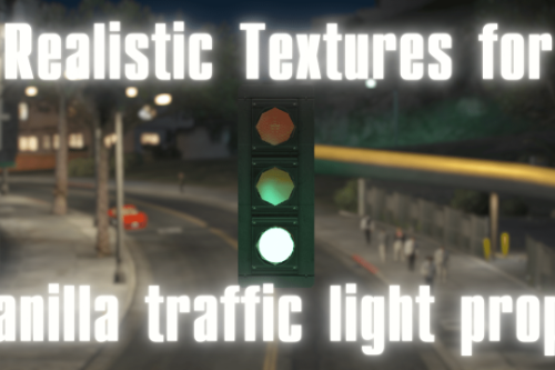Realistic Textures for Vanilla Traffic Lights