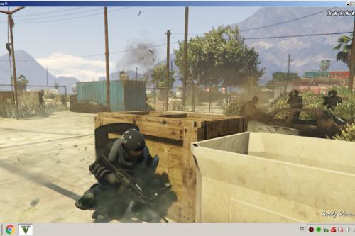 Realistic WeaponFX, Better Bullet Hit
