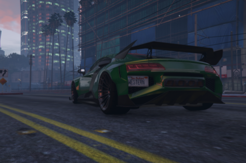 Realisting handling for LMTLS' Hycade Audi R8 with vehicles.meta update.