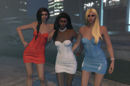 Recolored corset and skirt for MP female