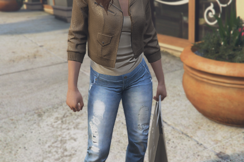 Recolored jeans for MP female